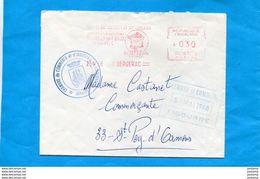 MARCOPHILIE-Lettre Commerciale GREVE 1968-cad EMA-25 Mai BERGERAC-distribuée Chambre Commerce LIBOURNE - Marcophilie (Lettres)