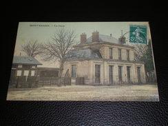 MONTABARD . La Gare. Année 1909 - Autres Communes