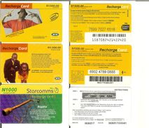 Nigeria: Lotto 3 Carte / Schede Telefoniche Differenti (telephonecard) - Nigeria