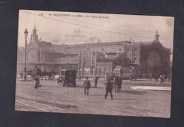 Vente Immediate Boulogne Sur Mer (62) Gare Centrale ( Animée Attelage Tramway Voiture Hotel CAP 30) - Boulogne Sur Mer