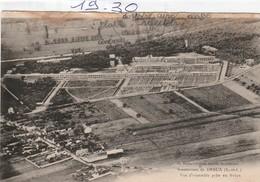 Militaria : DREUX : Sanatorium  ( Vue D'ensemble Prise D'un Avion ) - Guerra 1939-45