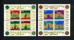 Israel  Nº Yvert  HB-8/9  En Nuevo - Hojas Y Bloques