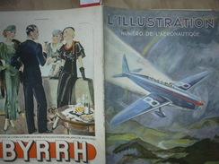 'ILLUSTRATION 4785 L'AERONAUTIQUE 17 Novembre 1934 Complet Avec 34 Pages D'annonces : Renault/ Ténor/ Café Du Brésil/ - Journaux - Quotidiens