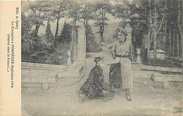 Guerre 1914-18 -ref L682- Illustrateurs - Illustrateur - Le Kronprinz A Compiegne - Oise - Et Le Cireur A Chaussures - - Weltkrieg 1914-18