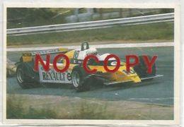 Arnoux R. Su Renault, Figurina 22 Formulissima Agip. - Automobile - F1