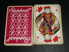 Rare Vintage Jeu De Cartes St Saint-Raphaël Quinquina Apéritif - 32 Karten
