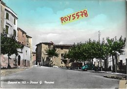 Lazio-frosinone-fumone Piazza G.marconi Bella Veduta Animata - Altre Città