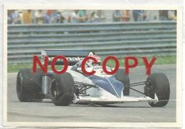 Piquet Nelson Su Brabham, Figurina 25 Formulissima Agip. - Automobilismo - F1