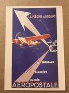 Carte Postale Prétimbrée Aéropostale - Publicité