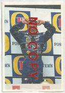 Patrese R., Figurina 27 Formulissima Agip. - Automobilismo - F1
