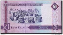 GAMBIA NLP 50 DALASIS 2015    UNC. - Gambia