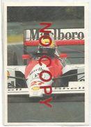 Airton Senna Su McLaren, Figurina 29 Formulissima Agip. - Automobilismo - F1