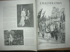 L'ILLUSTRATION N° 3163 MACEDOINE/ STATUE VERCINGETORIX BARTHOLDI/ CHIENS/ STRASBOURG/ ANGLETERRE 10 Octobre 1903 Page 22 - Journaux - Quotidiens