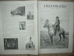 L'ILLUSTRATION N° 3203 BEY DE TUNIS PARIS/ ANGLAIS TIBET/ MAQUIS MONTMARTRE/ AUBERVILLIERS/ TRAMWAY VOSGES 16 Juillet 19 - Journaux - Quotidiens