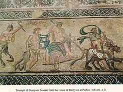 1 AK Zypern Cyprus * Bodenmosaik Villa Des Dionysos Bei Paphos Ca. 1700 Jahre Alt - Seit 1980 UNESCO Weltkulturerbe - Zypern