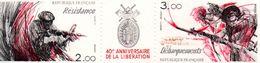 France. Paire Anniversaire De La Libération Avec Logo 2313a. Annee 1984 Neuf**. - Neufs