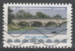 France, Navigable Aqueduc, Digoin, Burgondy, 2017, VFU Self-adhesive - Frankrijk