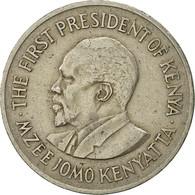 Kenya, Shilling, 1969, TTB, Copper-nickel, KM:14 - Kenya
