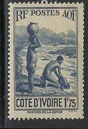 COTE D'IVOIRE 1938 YT 127A** - MNH - Côte-d'Ivoire (1892-1944)