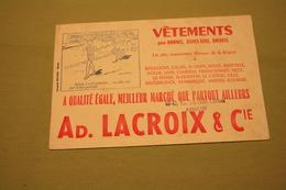 Buvard LACROIX - Textile & Clothing