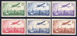 N° 8 à 13 (Poste Aérienne) Neufs*  COTE= 170 Euros !!! - 1927-1959 Postfris