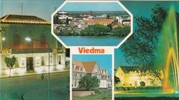 VIEDMA, RIO NEGRO. VISTAS PANORAMICAS, MINISTYERIO DE ECONOMIA Y CASA DE GOBIERNO. COLOR POST CARD.-ARGENTINE-BLEUP - Argentina