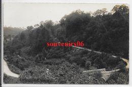 50 - Environs Ducey - Carte Photo -vallée Du Lait (sélune) , Jour De Traçage , Implantation Du 1 Ier Pont,ttb - Patarin - Autres Communes