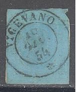 """Sardaigne: Yvert N° 5°; Belle Oblitération """"Vicevano""""; Cote 150.00€; 2° Choix - Sardaigne"""