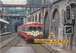 "Autorail EAD X 4529 ""dernier Train"", à Rouen-Rive Droite (76) - - Rouen"