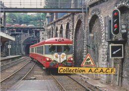 "Autorail EAD X 4529 ""dernier Train"", à Rouen-Rive Droite (76) - - Trains"