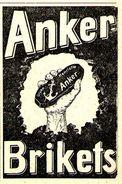 Original-Werbung/ Anzeige 1899 - ANKER BRIKETS - Ca. 45 X 60 Mm - Werbung