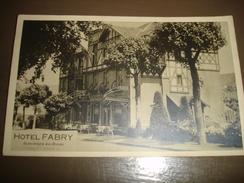 CPA PHOTO - ANSEREMME ( DINANT ) - HOTEL FABRY - Dinant