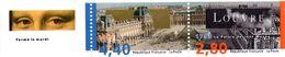 France.dyptique Avec Vignette 2852a.le Louvre.année 1993.neuf Non Plié. - Unused Stamps