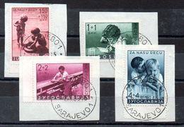 Serie De Yugoslavia Nº Yvert 339/42 O - 1931-1941 Royaume De Yougoslavie