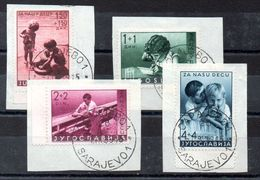 Serie De Yugoslavia Nº Yvert 339/42 O - 1931-1941 Regno Di Jugoslavia