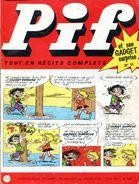 Pif Gadget N°15 De Juin 1969 (Vaillant 1253) - Bob Mallard Et Puchon - Le Grèlé 7/13 - Pif Gadget