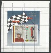 AJMAN - MANAMA - Sport - Cars - Motoring - CTO - Perforation Error - Cars