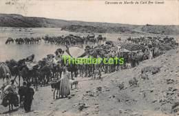 CPA  ALGERIE ALGERIA  CARAVANE EN MARCHE DU CAID BEN GANAH - Algérie