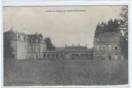 Chateau De L' Abbaye De Trois Fontaines (Marne) - France