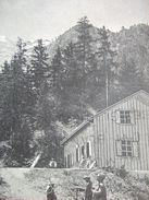 """74 - CHAMONIX - """" CHALET DU GLACIER DES BOSSONS """" - BELLE CARTE - - Chamonix-Mont-Blanc"""