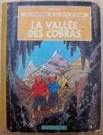 JO, ZETTE Et JOCKO La Vallée Des Cobras 1963 B34 Par Hergé - Jo, Zette & Jocko