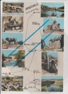 CPSM Grand Format - NASBINALS - Station Climatique Et Centre Touristique - Camping Aménagé Peche - Multivues - Autres Communes