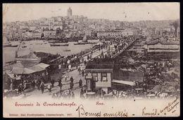 CONSTANTINOPLE - SOUVENIR - PERA ---- VERSO GERMAN OCCUPATION - DEUTSCHE POST - LEVANT - Turquia
