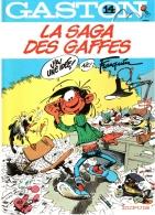 GASTON LAGAFFE N°14 La Saga Des Baffes EO 1982 TBE - Editions Originales (langue Française)