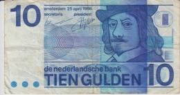 Netherlands - 10 Gulden 1968 - [2] 1815-… : Kingdom Of The Netherlands