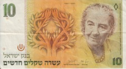 Israel - 10 New Sheqalim 1987 - Israel