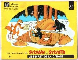 SYLVAIN Et SYLVETTE N°82 Le Secret De La Cabane EO 1966 - Coin-cadeau à Découper Intact - Editions Originales (langue Française)