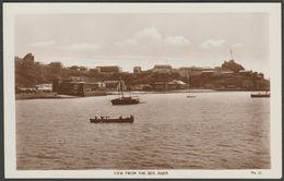 View From The Sea, Aden, C.1920s - M S Lehem RP Postcard - Yemen