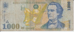 Romania - 1000 Lei 1998 - Romania