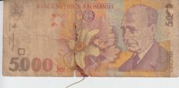 Romania - 5000 Lei 1998 - Romania
